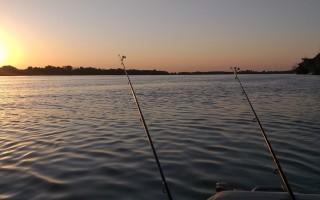 Pescuit din barca pe Chilia