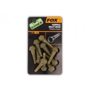 Clips Blocare Plumb Inline FOX Tadpole Multi Beads 10buc/plic