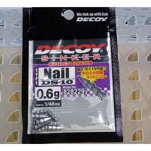Plumbi Lest Decoy DS-10 Nail Sinker 1.8g