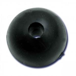 Stoper Black Cat Rubber Shock Bead 10mm 10buc/plic