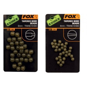 Stopere Fox de Cauciuc cu Alezaj Interior Conic 6mm