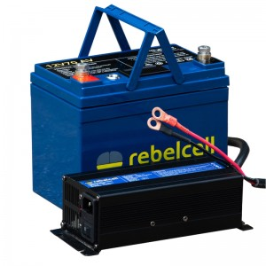 Baterie Rebelcell 12V/70A + Incarcator