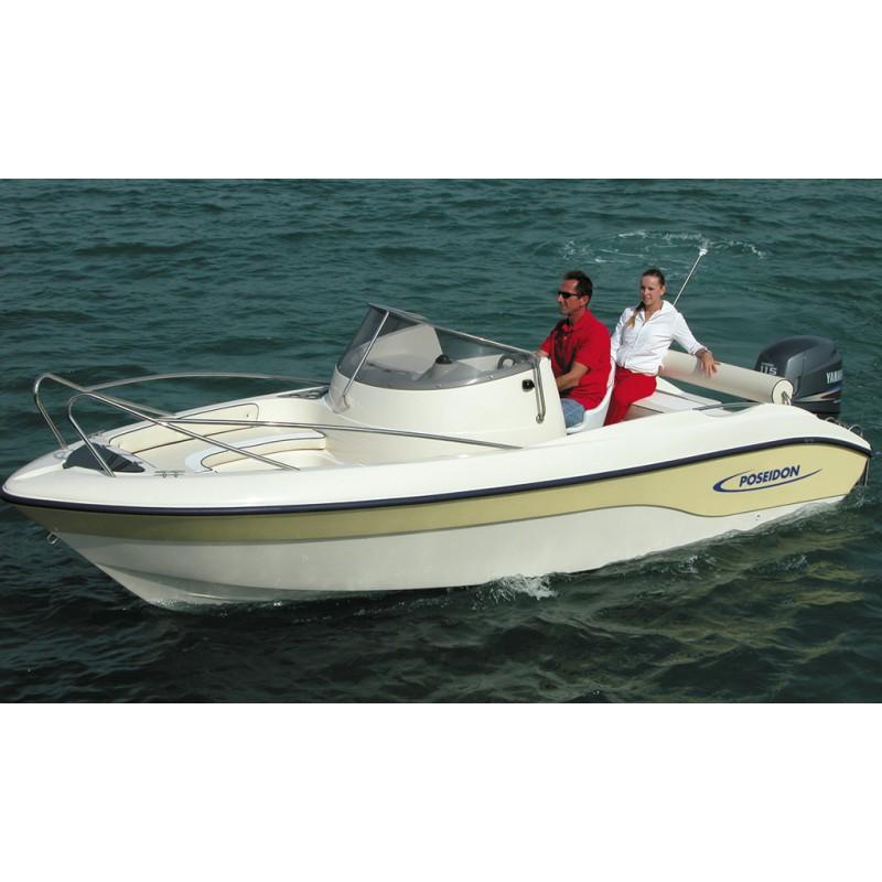 Barca Poseidon Blue Water 540