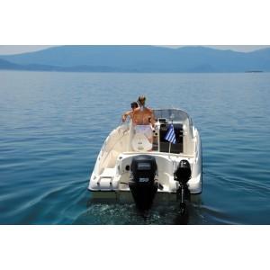 Barca Poseidon Blue Water 640