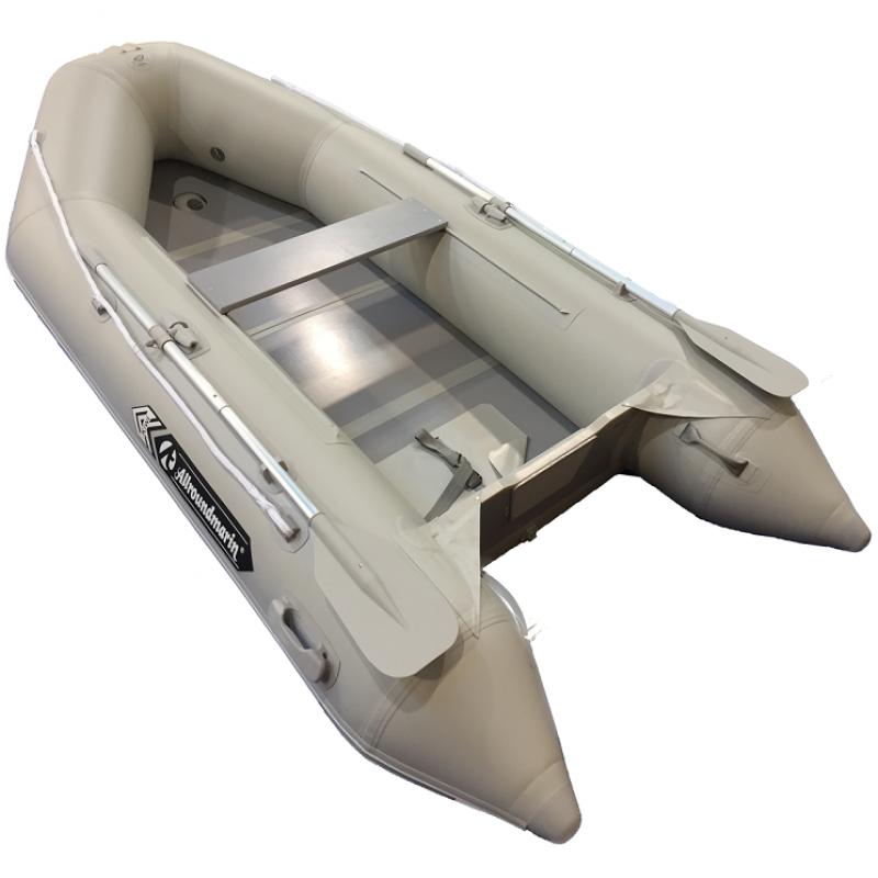 Barca pneumatica Allroundmarin Kiwi 280 gri cu podina