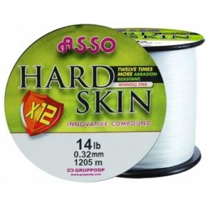 Fir Monofilament Asso Hard Skin Solid White 0.35mm 1050m