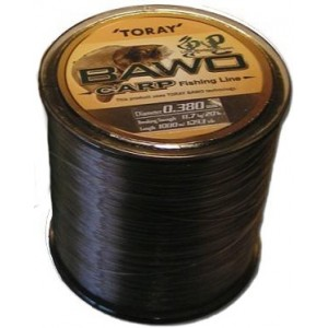 Fir Toray Bawo Carp Brown 1000m 0337mm