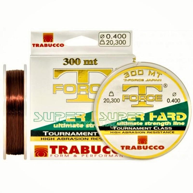 Fir monofilament Trabucco T-Force Tournament Super Hard, 300m, 0.25mm 8.48kg