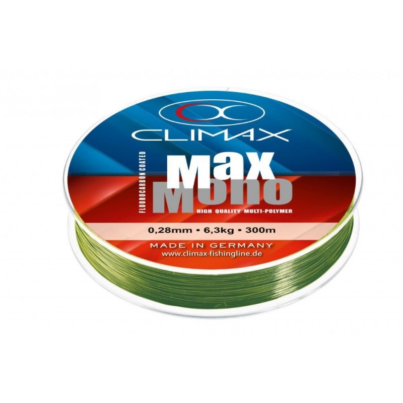 Fir Monofilament Climax Max Mono Olive 135m 0.32mm 8.500kg