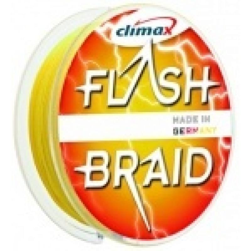 Fir Climax Flash Braid Yellow 0.10mm 100m