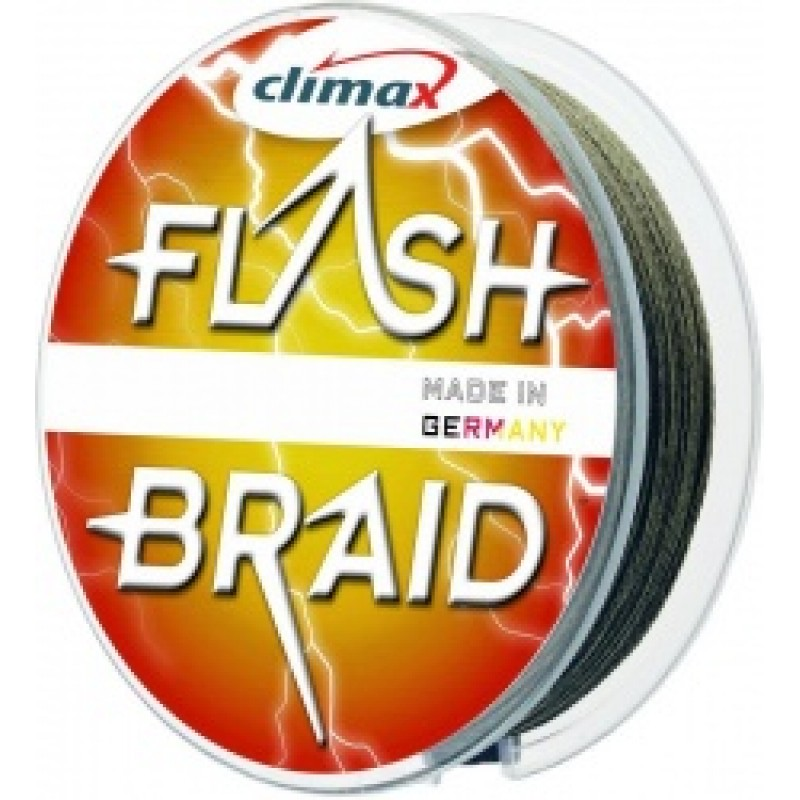 Fir Climax Flash Sinking Braid Green 010mm 100m
