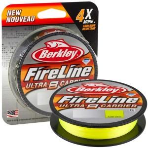 Fir textil Berkley Fireline Ultra 8 Fluo Verde 150m 0.25mm 18.4kg