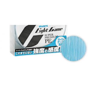 Fir Textil Varivas Avani Light Game Super Premium PE X4 Natural Blue 150m 0.085mm 6.5lbs