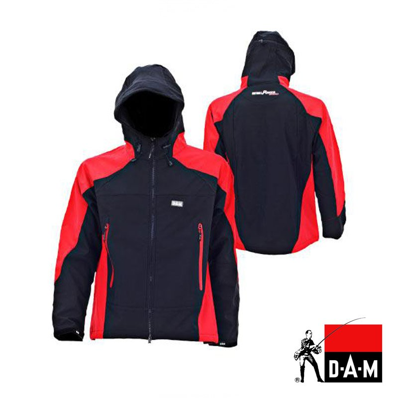 Jacheta DAM Steelpower Softshell Jacket L