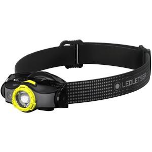 Lanterna Ledlenser MH5 Black Yellow 400lm cu Cablu Magnetic