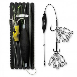 Rig Somn Black Cat Goby Rig 200cm 2/0  8/0