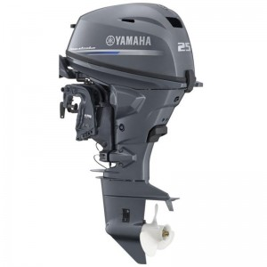 Motor Yamaha F25GES 25Hp EFI cizma scurta - pornire electrica, comenzi la distanta