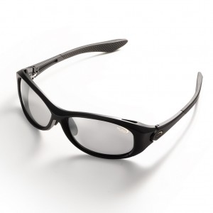 Ochelari polarizati Tiemco Sight Master Rotondo Matte Black SWR Light Gray Silver Mirrored