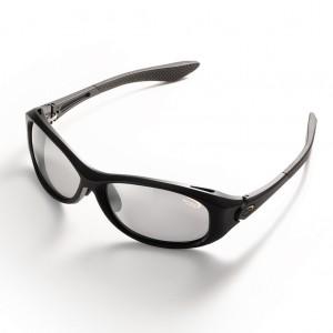 Ochelari polarizati Tiemco Sight Master Rotondo Matte Black SWR Light Gray Silver Mirrored
