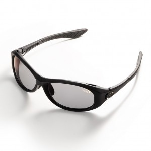 Ochelari polarizati Tiemco Sight Master Rotondo Matte Black SWR Super Light Gray