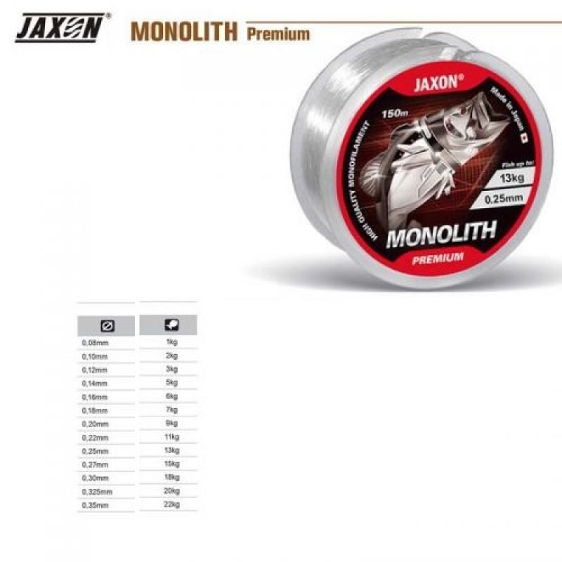 Fir Monofilament Jaxon Monolith Premium 0.20mm 25m