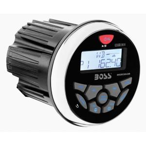Player Multimedia Boss Marine Alb MGR350B 4x60W MP3/WMA/USB/Aux-in/RDS/BT