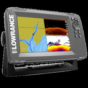 Sonar Lowrance Hook2 7 SplitShot Cu Chartplotter