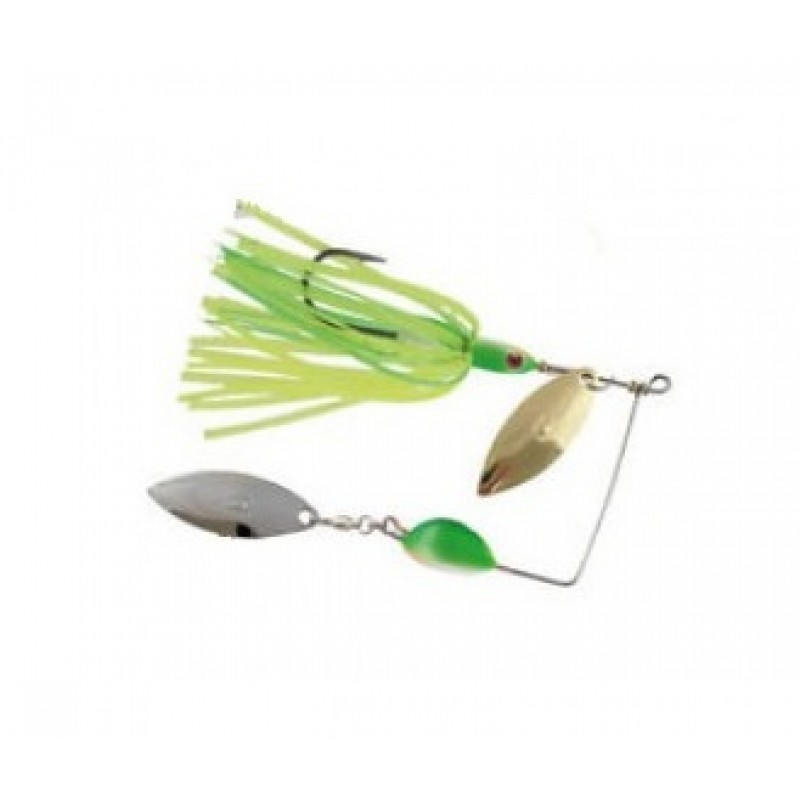 Spinnerbait Colmic Quake, 17.5g, Chatreuse/Lime