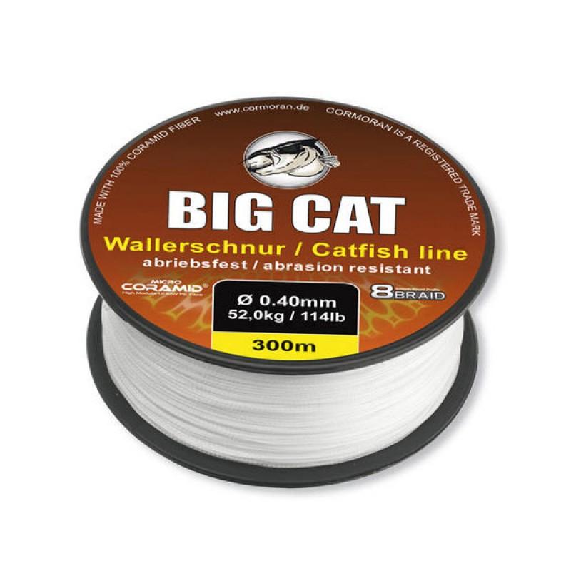 Fir Textil Cormoran Big Cat 8x Braid White 300m 050mm 68Kg 300m