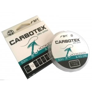 Fir Monofilament Carbotex Hooklength&Rig Line 50m 0.11mm/1.22kg