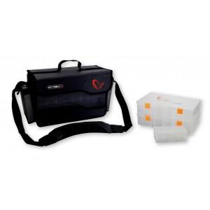 Geanta Savage Gear Pro Box System L cu 4 cutii