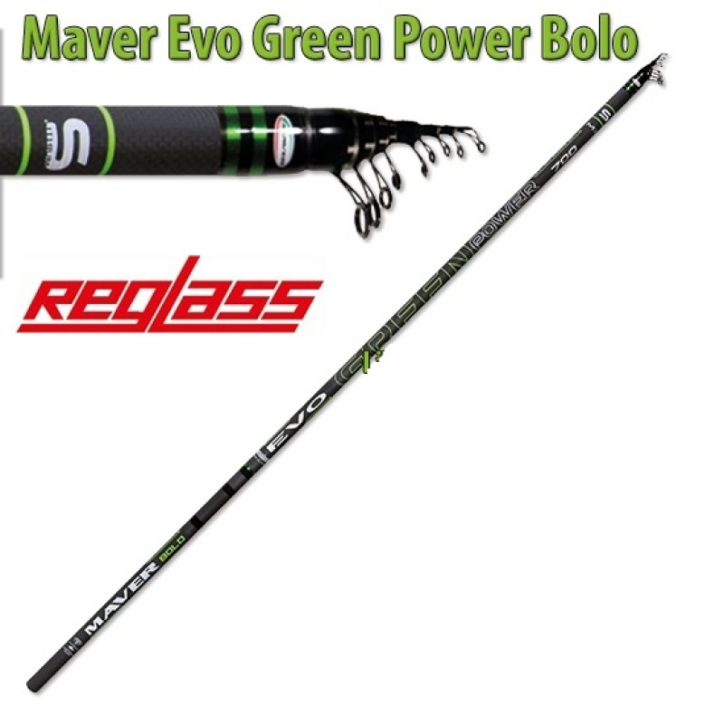 Lanseta Bologneza Maver Superlithium Evo Green Power MX 8.00m