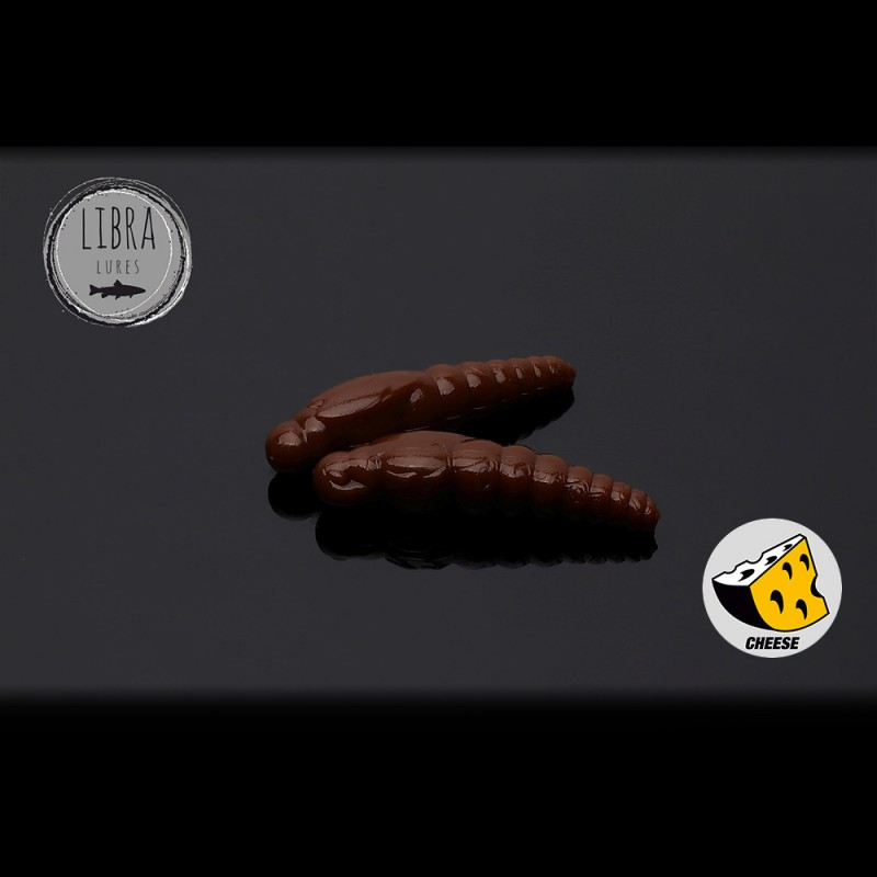 Libra Lures Largo Slim Worm 12buc 3.4cm 038