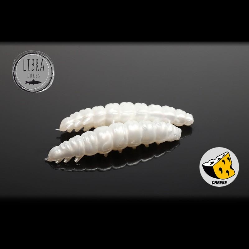 Libra Lures Larva Worm 3.5cm 12buc 004