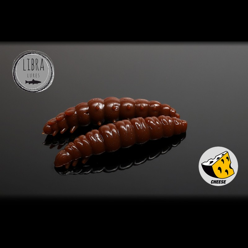 Libra Lures Larva Worm 3.5cm 12buc 038