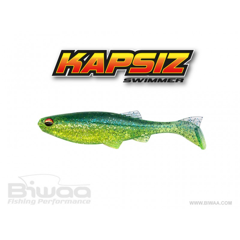 Shad Biwaa Kapsiz 10cm Blue Back Chartreuse