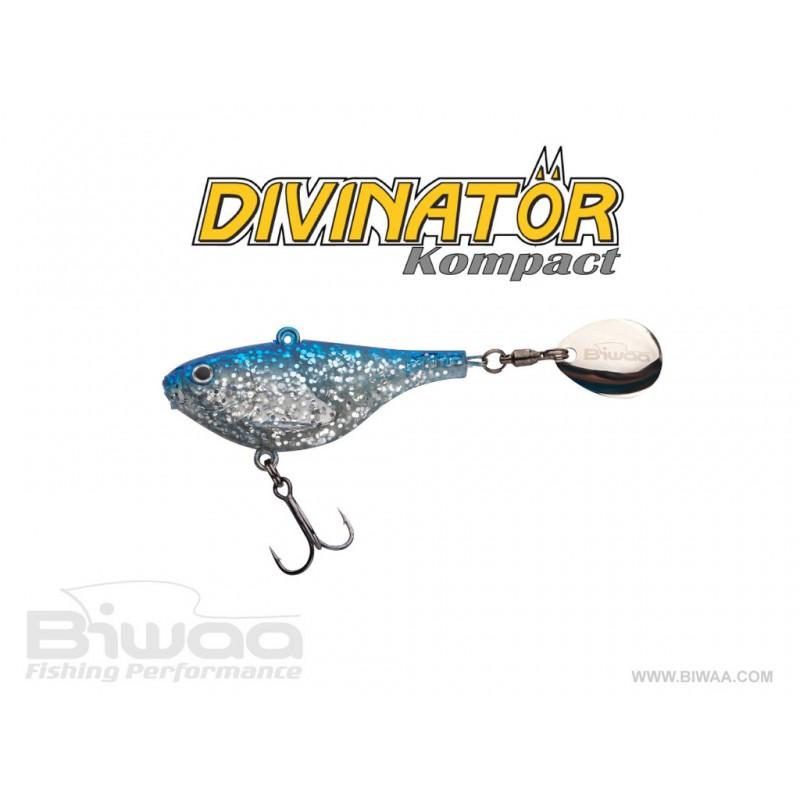 Biwaa Divinator Kompact 90 9cm 56g Blue Chrome