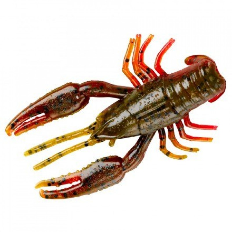 Yum Crawbug 6.40cm Green Pumpkin Texas Red