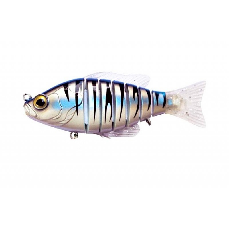 Vobler Swimbait Biwaa Seven Section Arctic Tiger 10cm