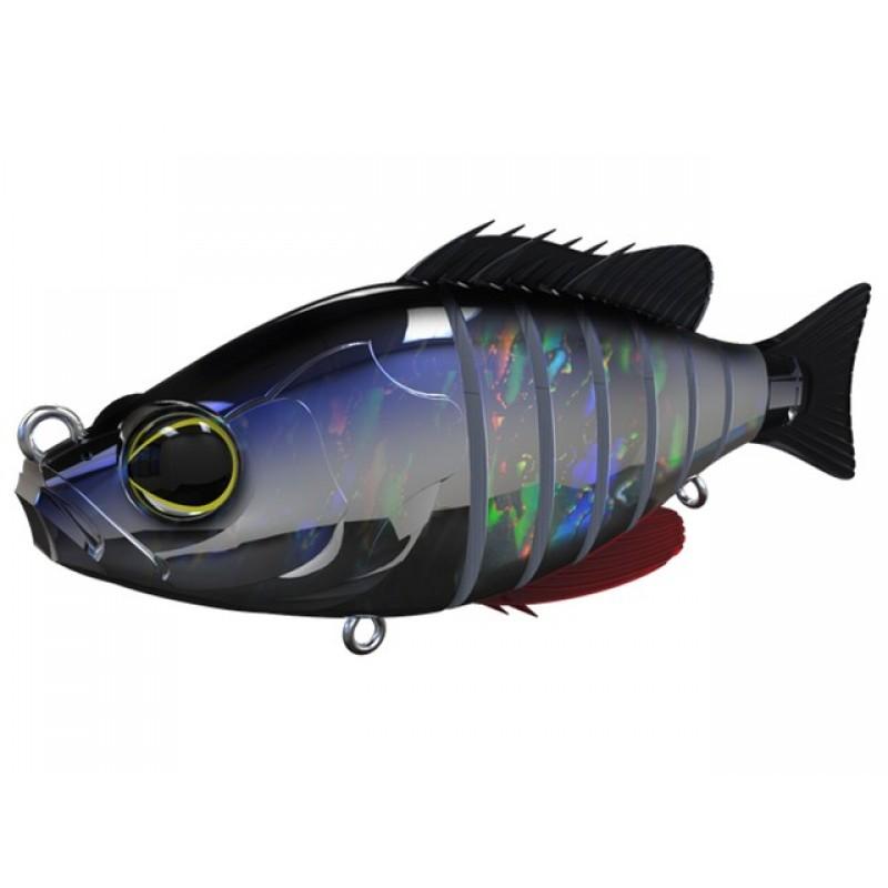 Vobler Swimbait Biwaa Seven Section Gardon Laser 10cm